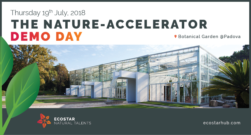 ECOSTAR NATURE-ACCELERATOR DEMO DAY 2018